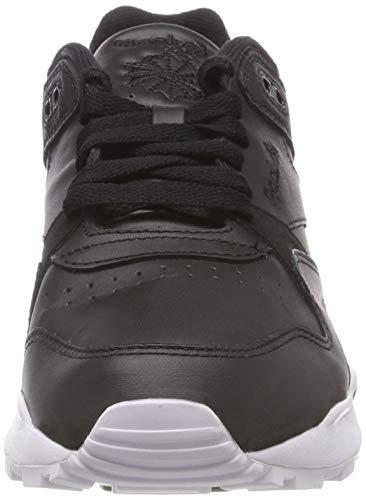 Chaussures De Og Blanc Reebok Gymnastique Adultes Noirs Unisexes Cl Leather Noir og Ii Blanc 41gCRq