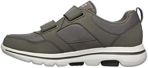 Skechers Men's Gowalk 5 Wistful-Hook and Loop Athletic Mesh Performance Walking Shoe Sneaker