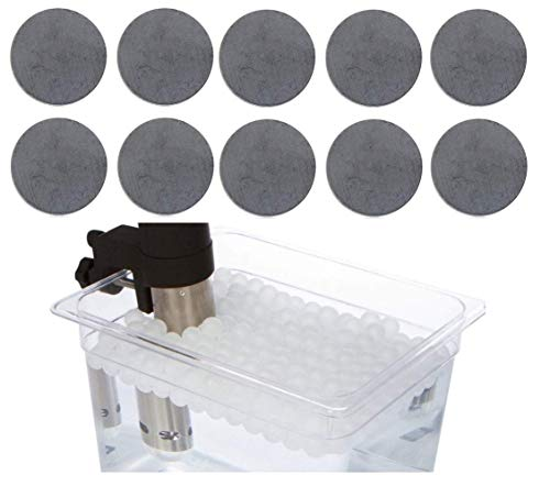 Sous Vide Magnets and Water Balls Alternative to clips and racks for Anova, ChefSteps Joule and other cookers fits any container holds bags underwater ... (Magnets And Balls)