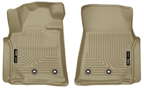 Husky Liners Front Floor Liners Fits 13-16 LX570, 13-16 Land Cruiser (Diesel Land Cruisers)