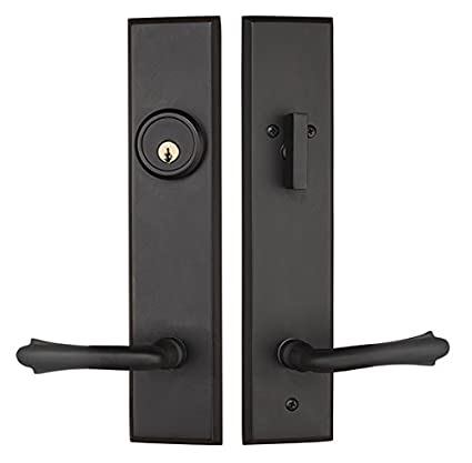 Superieur Rockwell Verano Entry Door Lock Handle Set With Bourne Lever In Oil Rubbed  Bronze Finish,