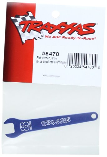 Traxxas 5478 8mm Flat Wrench, Blue (Flat Wrench)