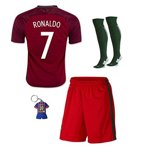 7be03403b030 promo code for soccer kids 2016 2017 football soccer european cup ronaldo  home portugal kids jersey