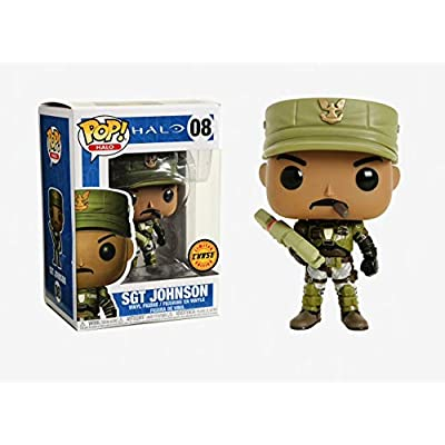 Funko POP! Halo Sgt Johnson 3.75