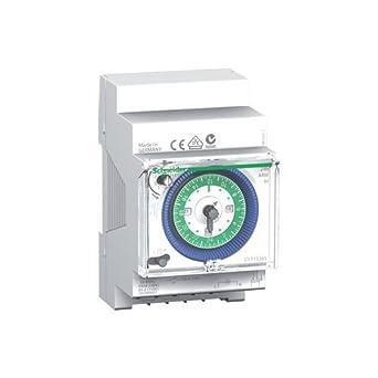Schneider Electric CCT15365 Acti 9, Ih, Interruptor Horario Analógico, 24 H, 200 H Memoria: Amazon.es: Industria, empresas y ciencia
