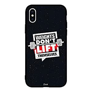 iPhone XS Weights Don'T Lift Themselves