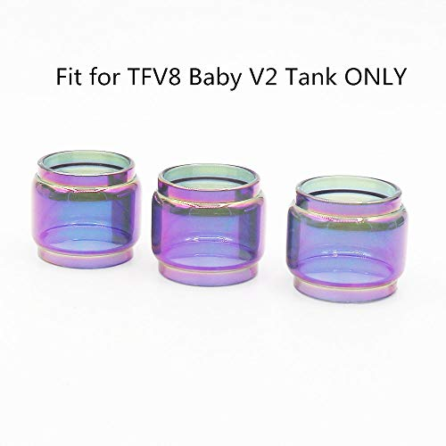 - DEKPRO 3PCS Replacement Fat Glass Tank Rainbow T-a-n-k Clear Silicone Protective Skin Case Seals Gasket (Rainbow-3 PACK)