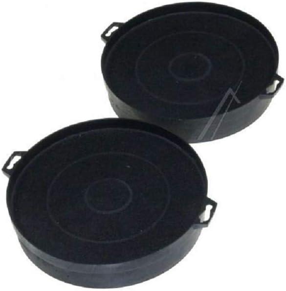 Vigier – – Juego de 2 filtros a carbón para campana extractora, Diámetro de 210 mm FAC539 – 2B210: Amazon.es: Grandes electrodomésticos
