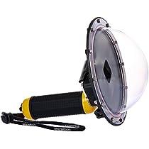 Amazonベーシック GoPro HERO5用水中ドームポート イエロー