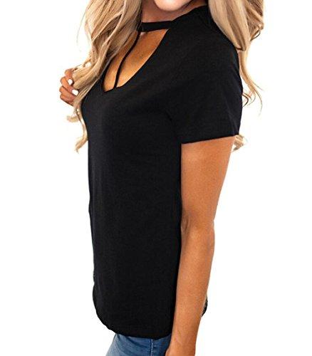 VLUNT - Camiseta - para mujer negro