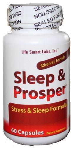 Sommeil et Prosper de haute qualité toute l'aide sommeil naturel et Formule Stress Anxiété aide
