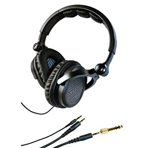 Kicker HP541 DJ-Style Over the Ear Headphones (Black) (Discontinued by Manufacturer)