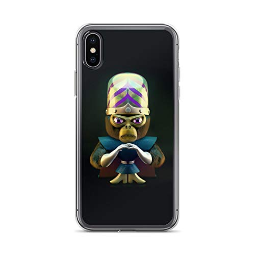- iPhone X/XS Case Anti-Scratch Animated Cartoon Transparent Cases Cover Mojo Cartoons Caricature Crystal Clear