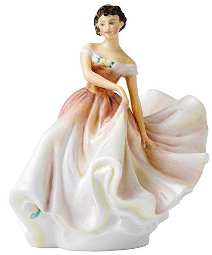 Royal Doulton The Polka Figurine #HN5652 100-Yrs Limited Edit HN Icons Small New In - Doulton Years 100 Royal