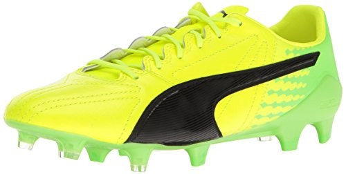 PUMA Men's Evospeed 17 SL K Lth FG Soccer Shoe - Safety Y...