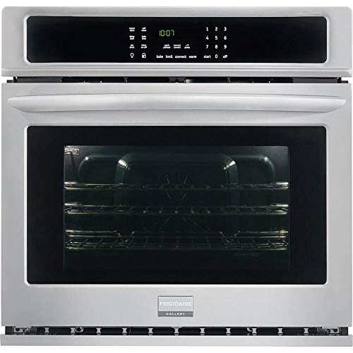 Frigidaire FGEW3065PF FGEW3065PF-Gallery 30″ Stainless Steel Electric Single Wall Oven-Convection, 30 inches (Certified Refurbished)