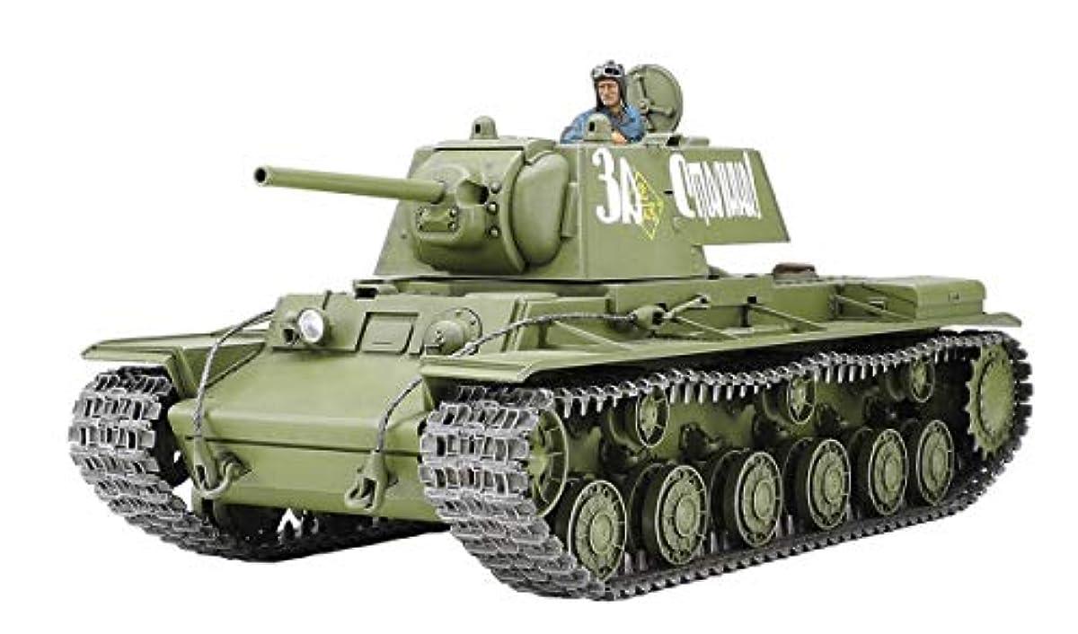 [해외] 퍼터미야 1/35 밀리터리 미니어쳐 실리즈 NO.372 소비에트중 전차 KV-I 1941년 형초기 생산차 프라모델  35372