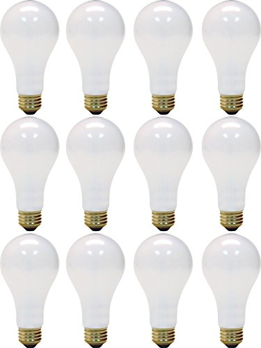 (Ge 3 Way Soft White Light Bulb 150 W 615/1540 Lumens A21 Med Base 5-1/4 In. Sleeved)