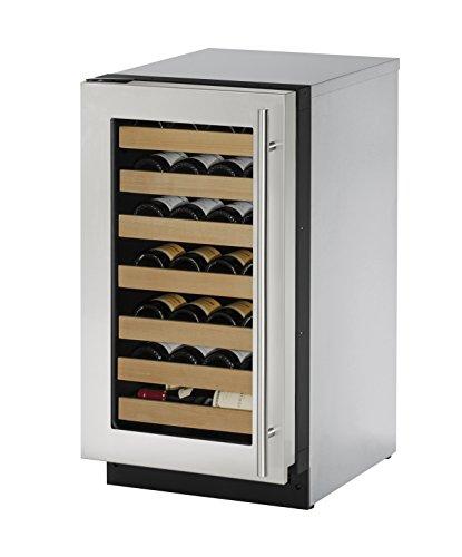 """U-Line U2218WCS01A Built-in Wine Storage, 18"""", Stainless ..."""