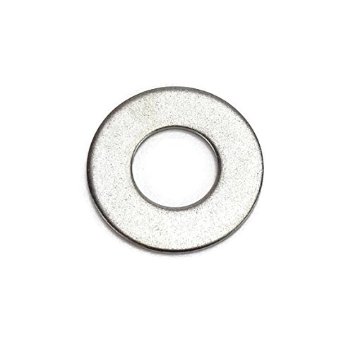 Stainless 3/8 USS Flat Washer(More Selections in Listing), 304 Stainless Steel, (3/8 Flats (50 PCS)) 100pk 3/8 Stainless Steel