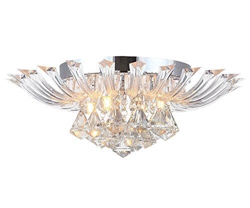 45cm Kristall Deckenleuchte Andromeda S Leuchte Deckenlampe Kronleuchter Wohnzimmer Beleuchtung Mit Leuchtmittel Amazonde