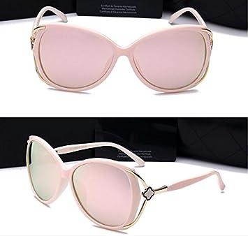Gafas de sol polarizadas gafas de sol grandes de la caja elegante