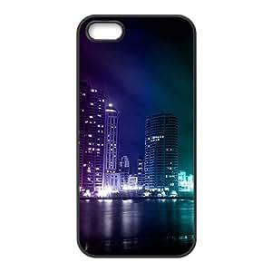 Beautiful night scenery Phone Case for iPhone 5S(TPU)