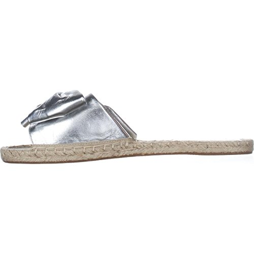 Slide Toe Les Womens Casual Silver Open Sandals Gemma Avec Filles 0dEX0q