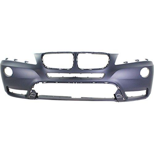 MBI AUTO - Primered, Front Bumper Cover Fascia for 2011-2014 BMW X3 SUV 11-14, BM1000252 - Bmw X3 Suv