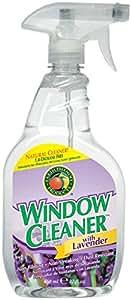 Earth Friendly Window Kleener Lavender -- 22 fl oz