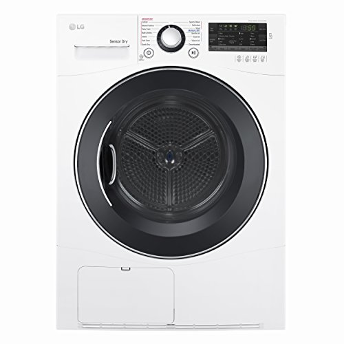 """LG DLEC888W 24"""" Electric Dryer with 4.2 cu. ft. Capacity,..."""