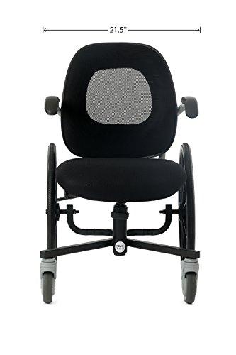 REVO 360 Slim Line Narrow Wheelchair (w/o Hand (Revo Ring)