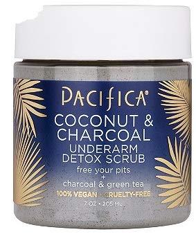 Pacifica Coconut & Charcoal Underarm Detox Scrub 7oz,pack of 1 ()