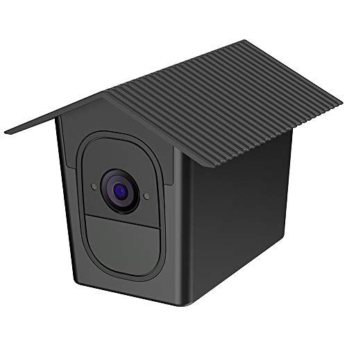 (Aobelieve Weather-Resistant Birdhouse Cover for Arlo Pro and Arlo Pro 2 Camera (Black, 1 Pack))