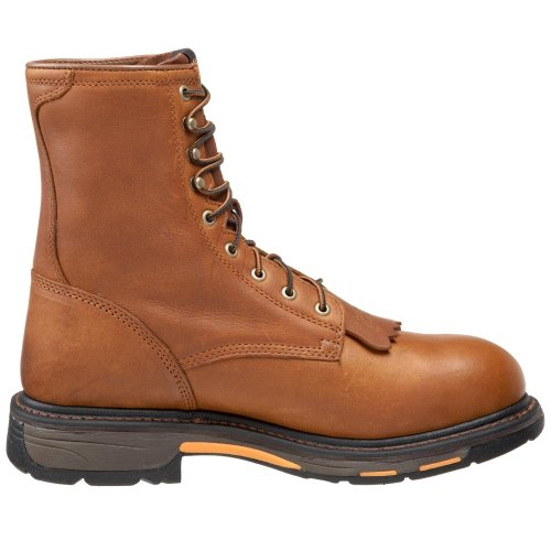 Ariat Mens Workhog 8 Composito Toe Work Boot Golden Grizzley