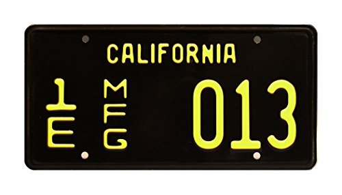Celebrity Machines GT 350 | Shelby Cobra Mustang | 1E MFG 013 | Metal Stamped Vanity License Plate