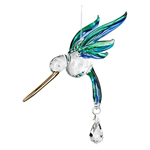 Woodstock Chimes Rainbow Maker - Fantasy Glass Hummingbird, Peacock by Woodstock Chimes (Image #1)