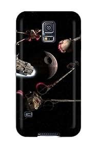New CgAgeYZ2775gYRXn Star Wars Skin YY-ONE Shatterproof Case For Galaxy S5