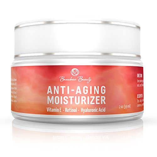 Retinol Anti Aging Moisturizer Cream - Best Skin Care for Fa