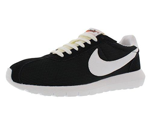 (Nike Men's Roshe Ld-1000 Qs Black/White-White Ankle-High Mesh Running Shoe - 12M)