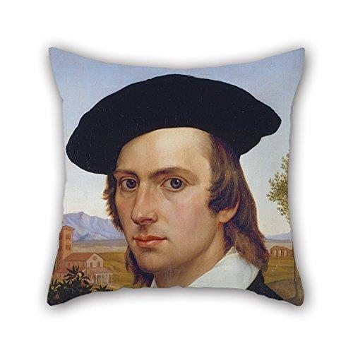 Uloveme Pillow Shams Of Oil Painting Johann David Passavant - Self-Portrait With (Reed Roman Tub)