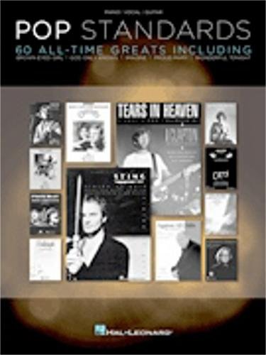Hal Leonard Pop Standards 60 All Time Greats for Piano/Vocal/Guitar (PVG) (Book Sheet Music Pvg)