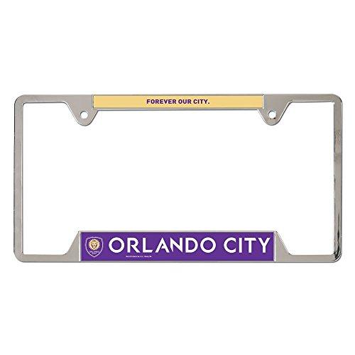 WinCraft Soccer Orlando City SC Metal License Plate Frame (Sport Shop Orlando)
