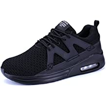 KRIMUS Mens Walking Sneakers Air Cushion Sports Shoes Breathable Athletic Running Shoes