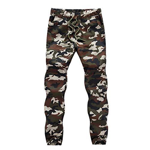 - LISTHA Zipper Pocket Sports Pants Mens Personal Elastic Smallfoot Trousers