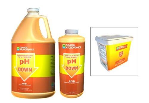 GH pH Down Liquid Quart 722120 by GH pH