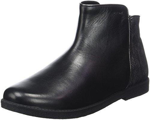 Bottes J Fille D black Geox Shawntel Noir nBf7xtt0