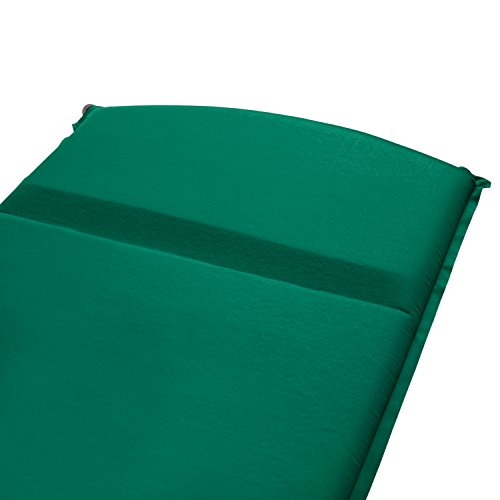 Lightspeed Outdoors Warmth Series Self Inflating Sleep Camp Pad (Thickest and Warmest)