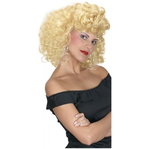 Sandy Olsson Costumes (Cool 50's Girl Wig Costume Accessory)