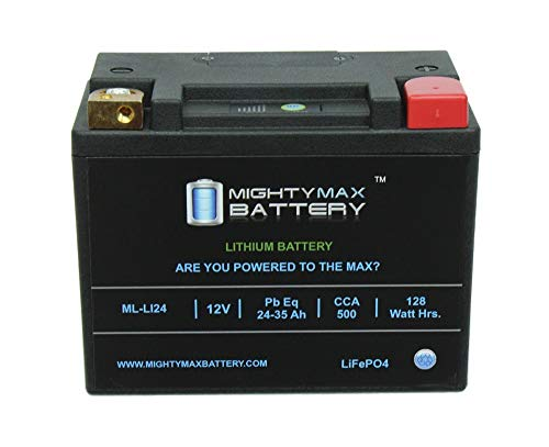 Mighty Max Battery LiFePO4 12V 24-35ah Battery for Bombardier Ski-Doo Elite 2004-2006 Brand Product
